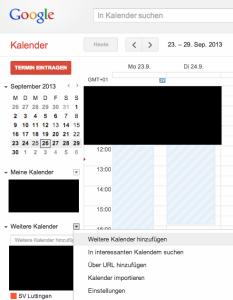 Kalender abonnieren Google 1