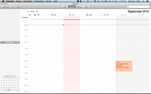 Kalender abonnieren Mac OS X 6
